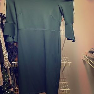 H&M Off the Shoulder Midi Dress